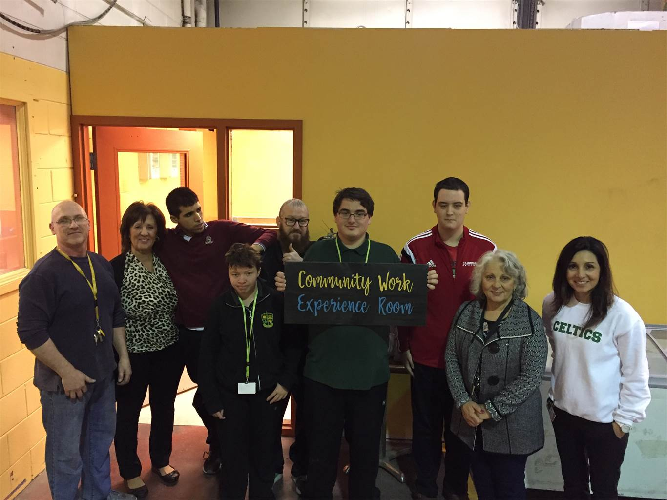 BR students name new room at Good Shepherd