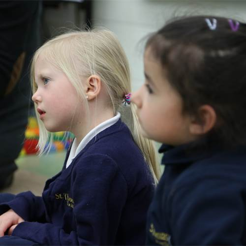 Catholic School Kindergarten Students