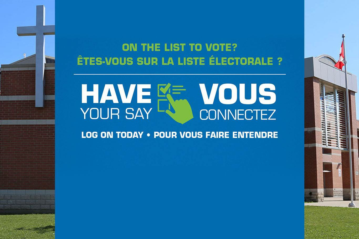 Banner Image for On October 22, cast your vote for your Catholic school trustee
