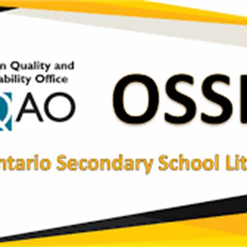 OSSLT Field Test information for Grade 11 students and non-graduating Grade 12 students